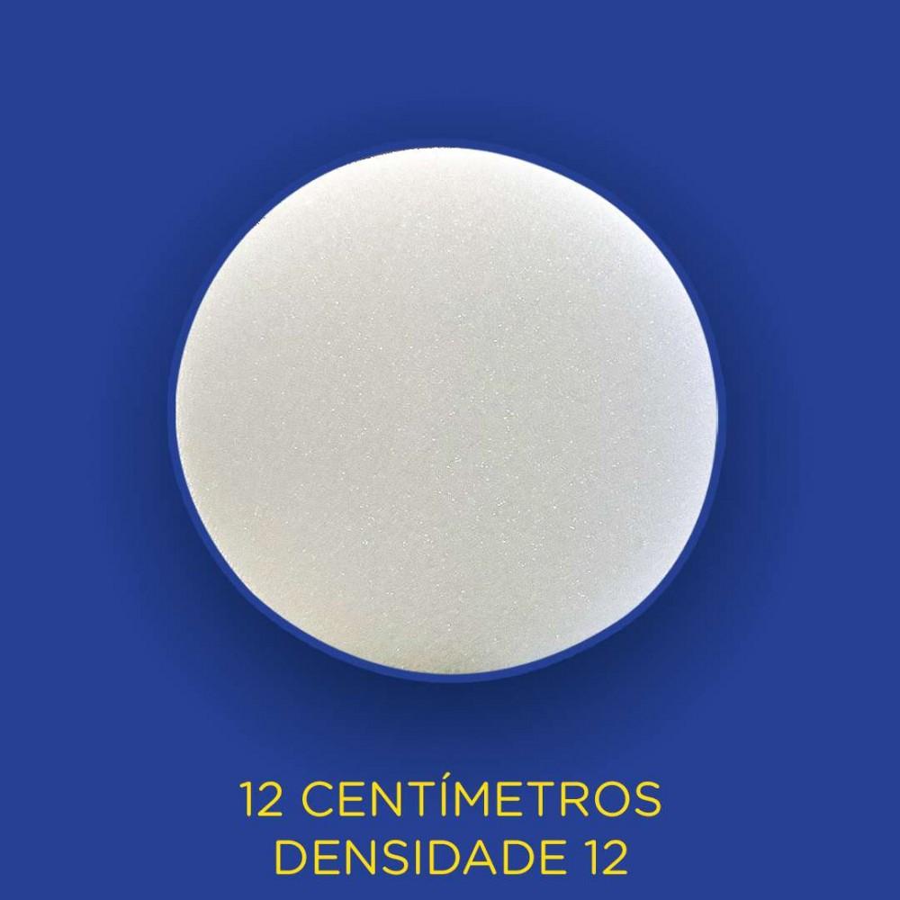 Espuma Cilindrica - D12 - 12 Centímetros - 00 - liso