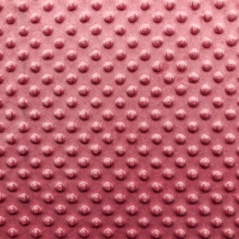 Manta Bubble Soft - 100% Poliéster - Rosa bebê