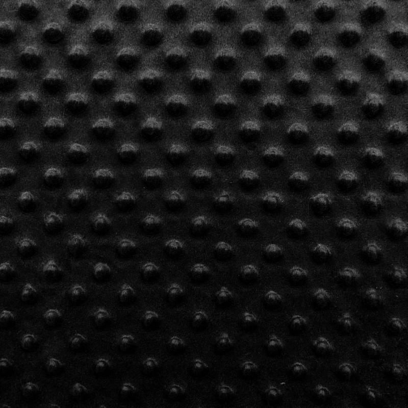 Manta Bubble Soft - 100% Poliéster - Preto