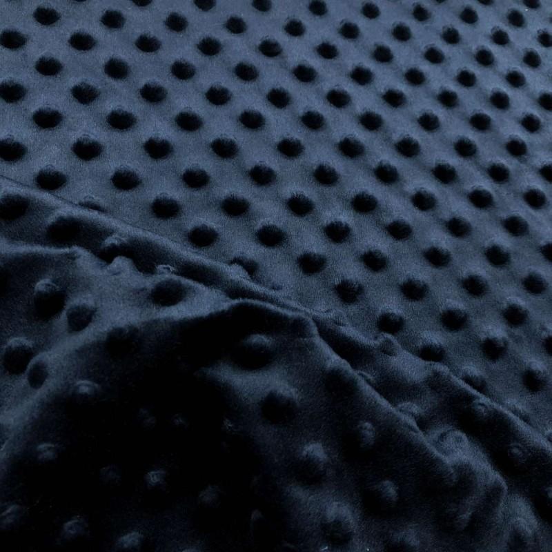 Manta Bubble Soft - 100% Poliéster - Azul marinho