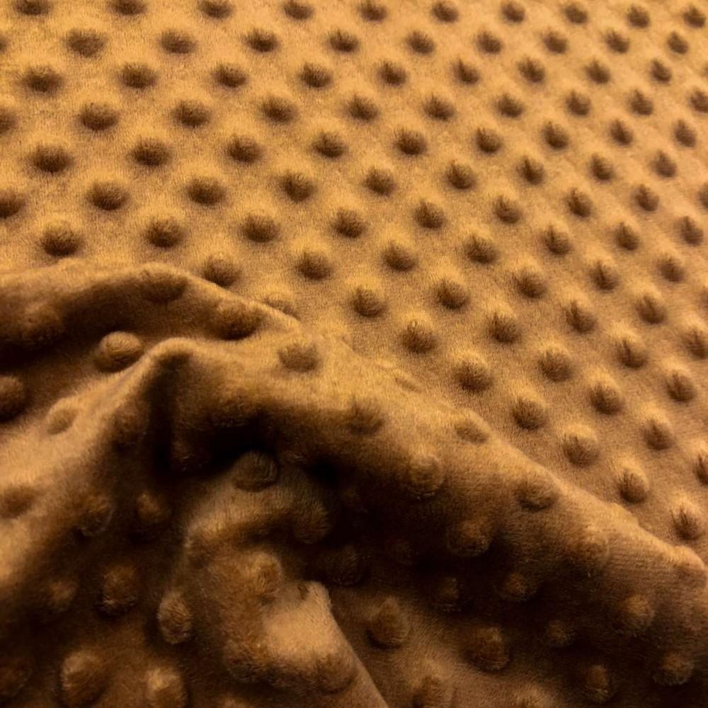 Manta Bubble Soft - 100% Poliéster - Dourado