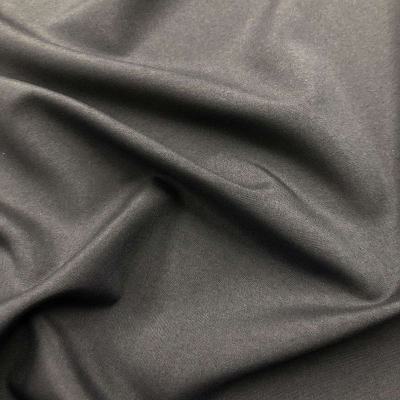 Microfibra Lisa (Tactel) - 1,60m largura - Cinza escuro