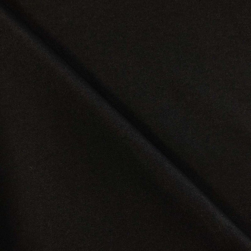 Microfibra Lisa (Tactel) - 1,60m largura - Preto