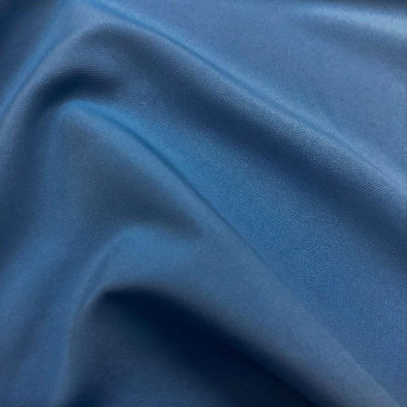 Microfibra Lisa (Tactel) - 1,60m largura - Azul anil