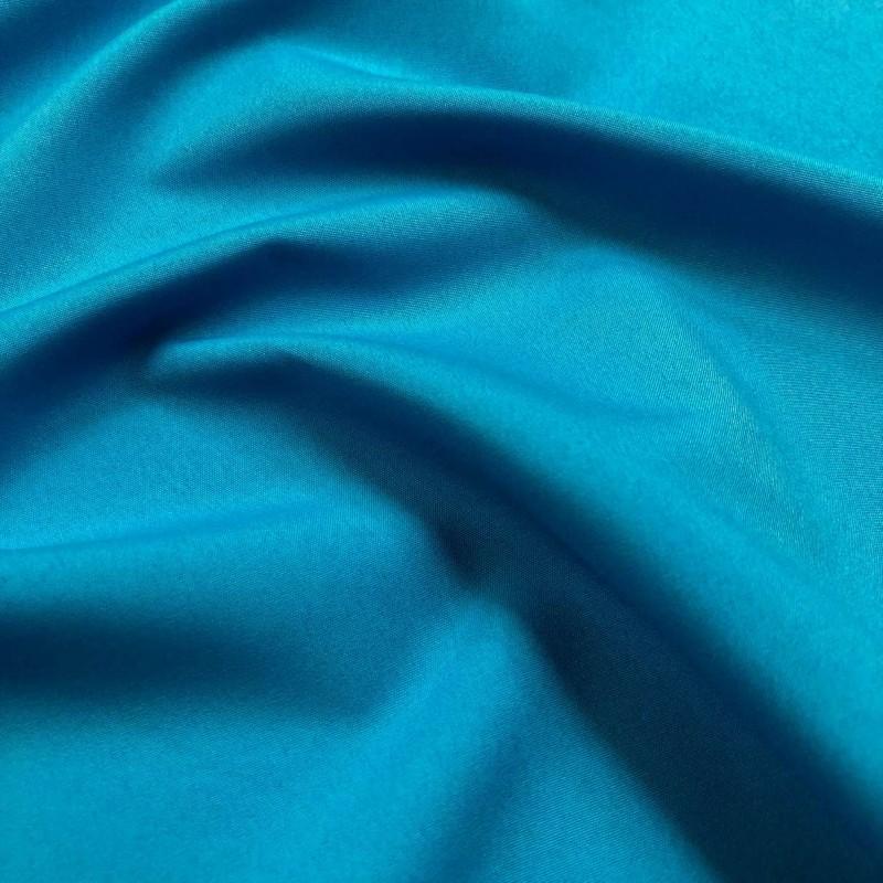 Microfibra Lisa (Tactel) - 1,60m largura - Azul turquesa
