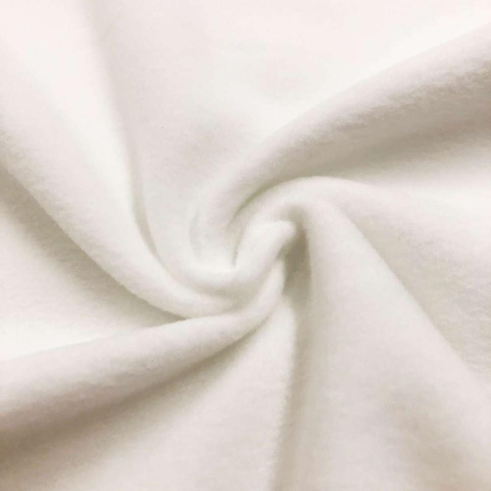 Microsoft Liso - 100% Poliéster - 1,67m largura - Off white