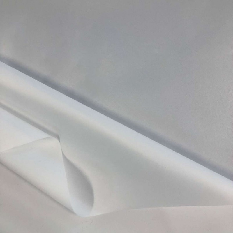 Nylon Emborrachado Impermeável - 100% Poliamida - 1,50m largura. - Branco