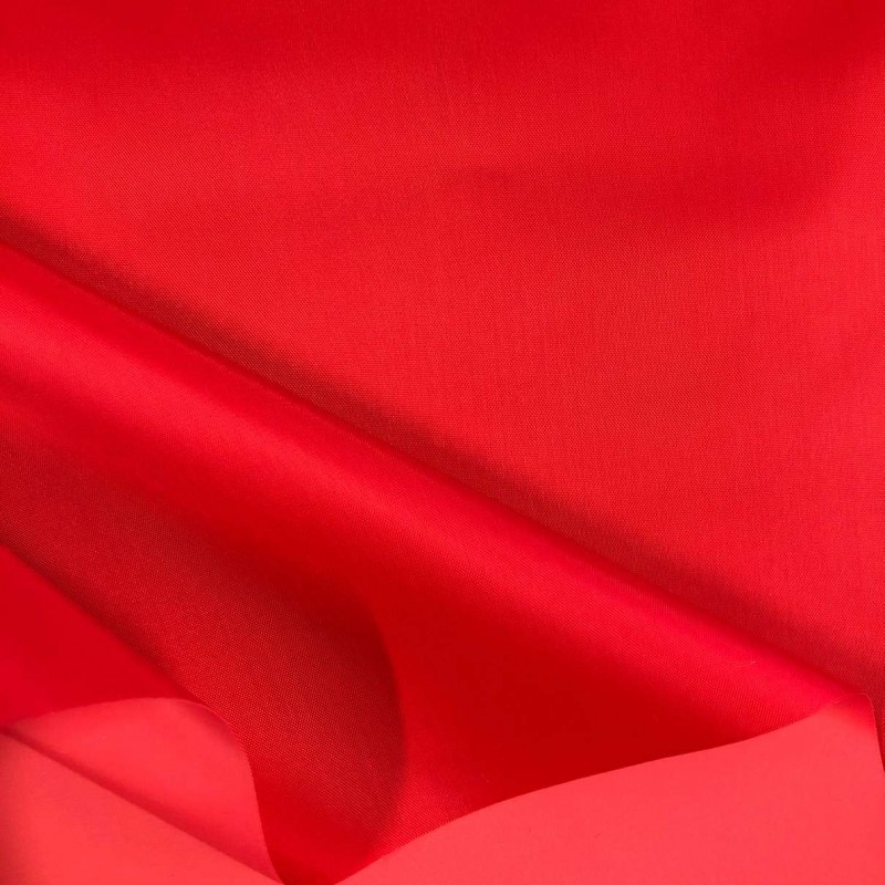 Nylon Emborrachado Impermeável - 100% Poliamida - 1,50m largura. - Vermelho