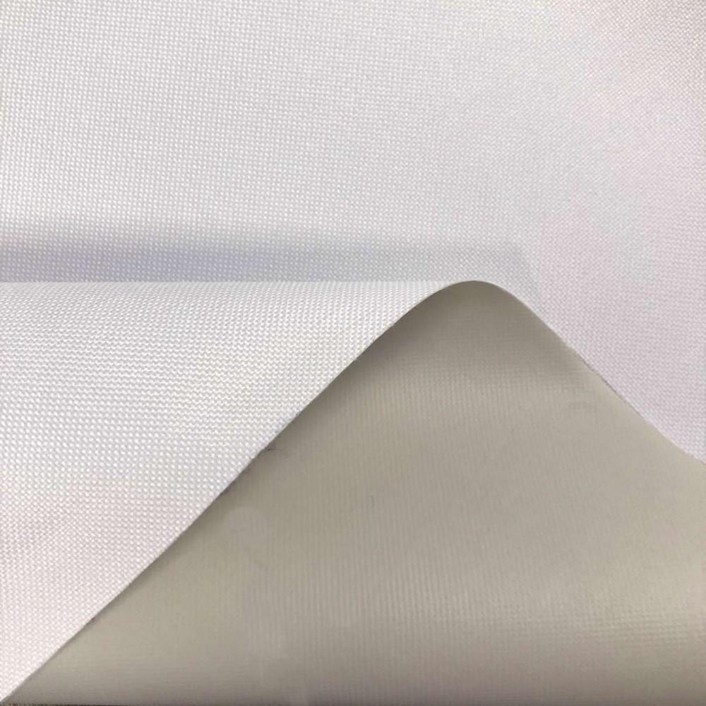 Nylon 600 - 40% Poliéster 60% PVC - 1,50m Largura - Branco