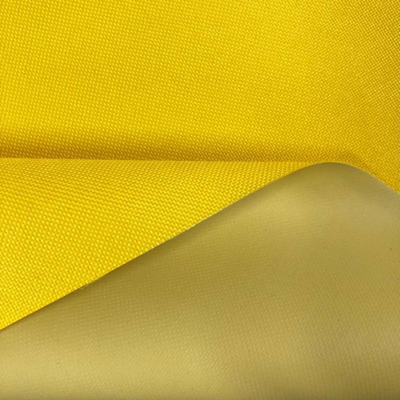 Nylon 600 - 40% Poliéster 60% PVC - 1,50m Largura - Amarelo
