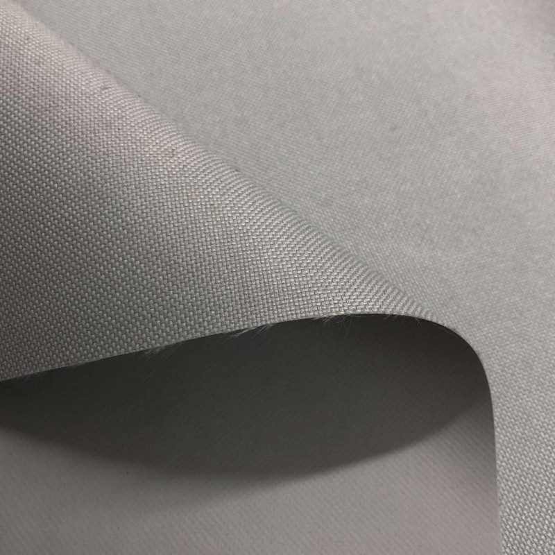 Nylon 600 - 40% Poliéster 60% PVC - 1,50m Largura - Cinza claro
