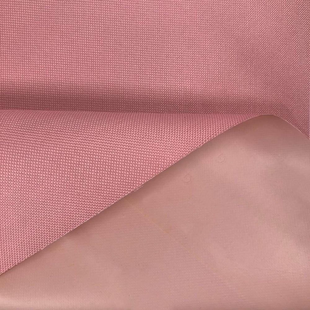 Nylon 600 - 40% Poliéster 60% PVC - 1,50m Largura - Rosa bebê