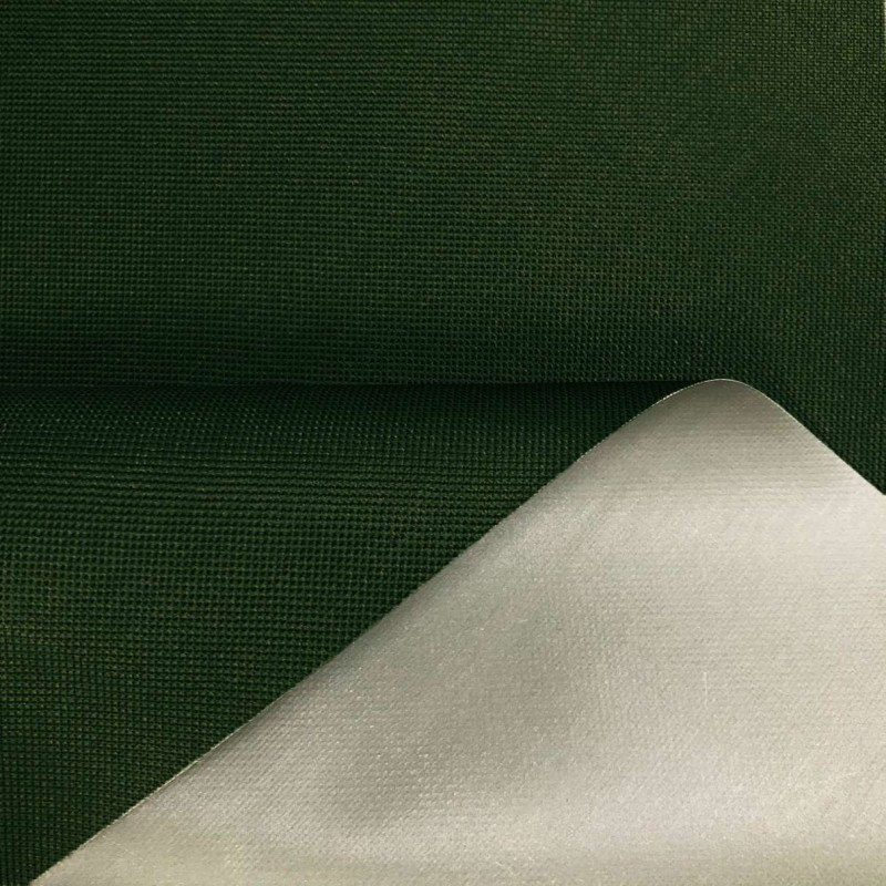 Nylon 600 - 40% Poliéster 60% PVC - 1,50m Largura - Verde bandeira