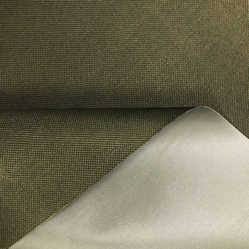 Nylon 600 - 40% Poliéster 60% PVC - 1,50m Largura - Verde oliva