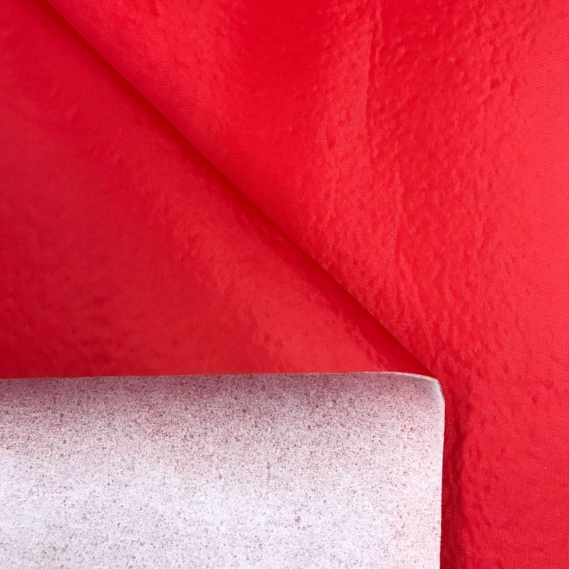 Nylon Dublado (Acoplado) - Larg. 1,40M - Vermelho
