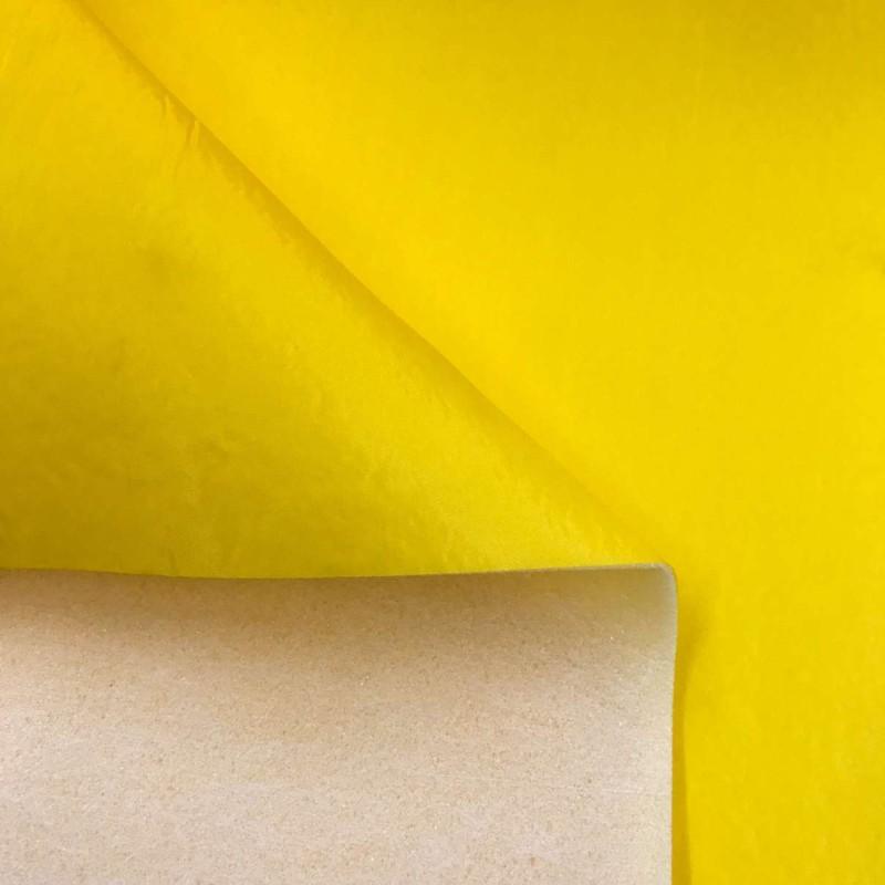 Nylon Dublado (Acoplado) - Larg. 1,40M - Amarelo