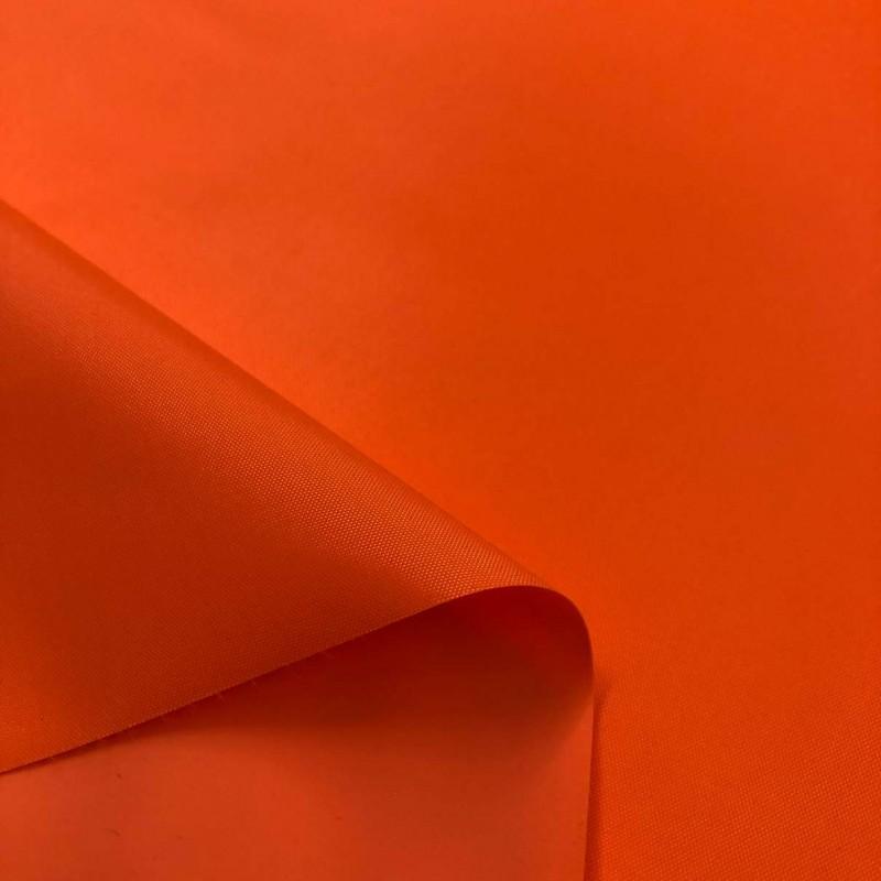 Nylon Emborrachado Impermeável - 100% Poliamida - 1,50m largura. - Laranja