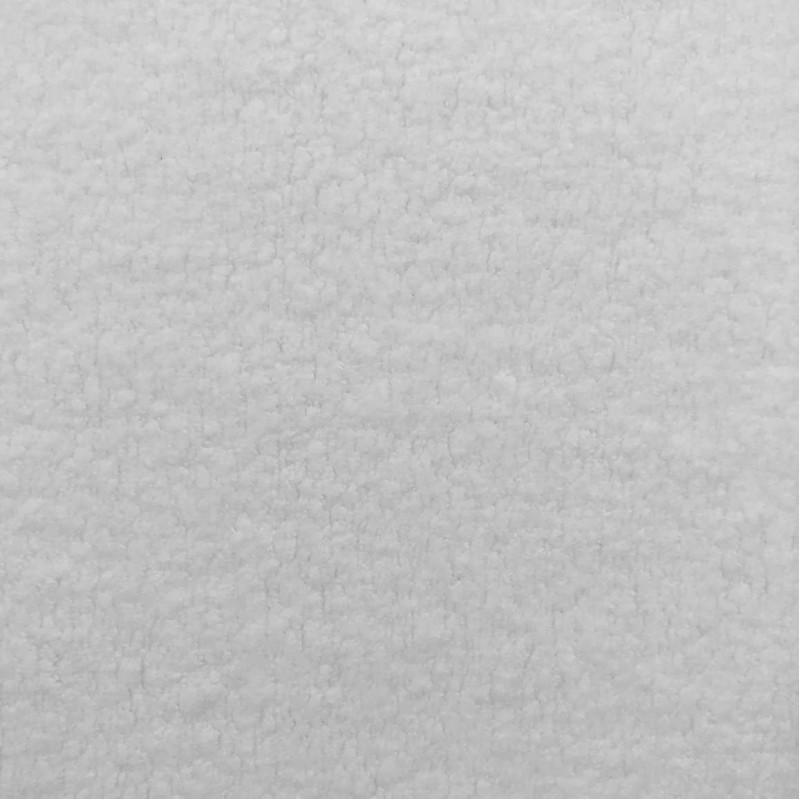Pelúcia Melton Lisa - 80% Alg 20% Pol - 1,66m largura - Branco