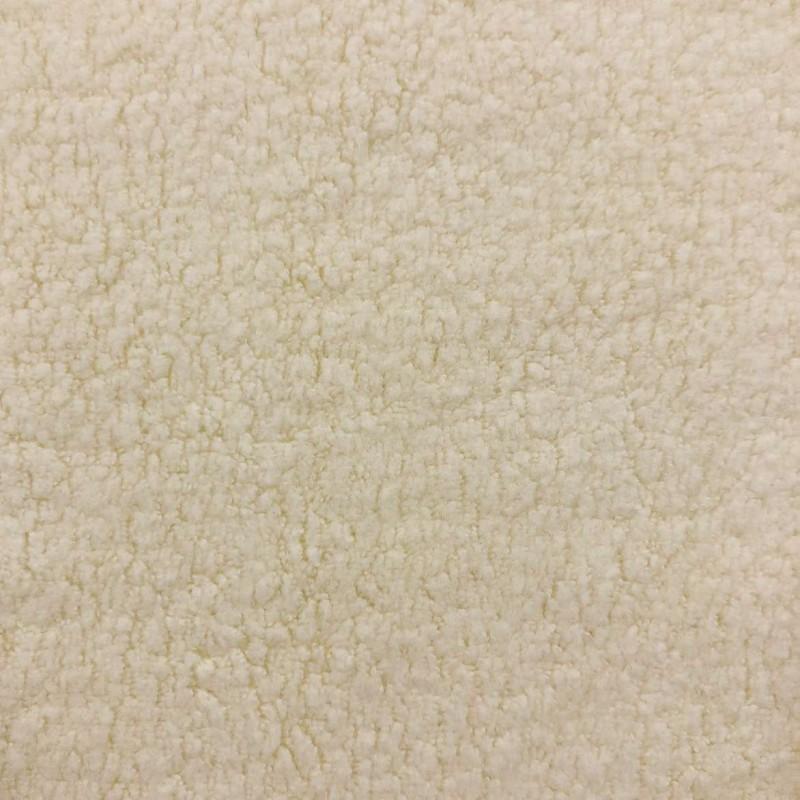 Pelúcia Melton Lisa - 80% Alg 20% Pol - 1,66m largura - Algodão (pérola)