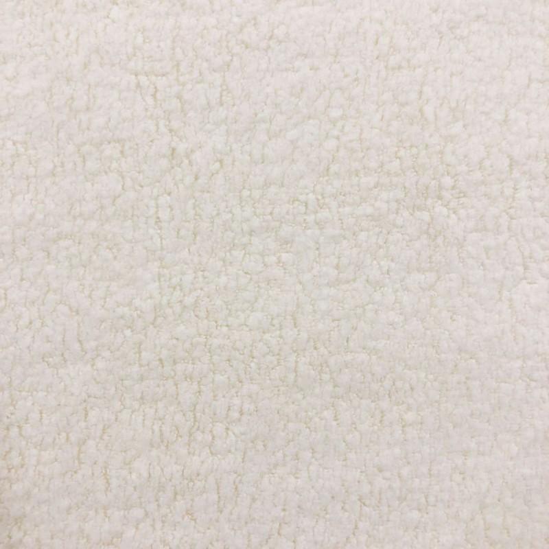 Pelúcia Melton Lisa - 80% Alg 20% Pol - 1,66m largura - Marfim (off white)