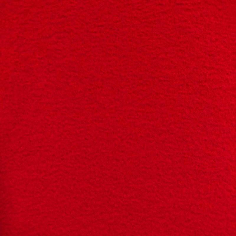 Pelúcia Soft Liso - 100% Poliéster - 1,50m Largura - Vermelho