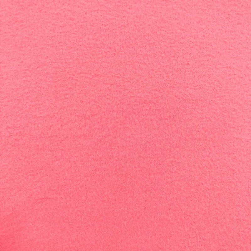 Pelúcia Soft Liso - 100% Poliéster - 1,50m Largura - Rosa chiclets