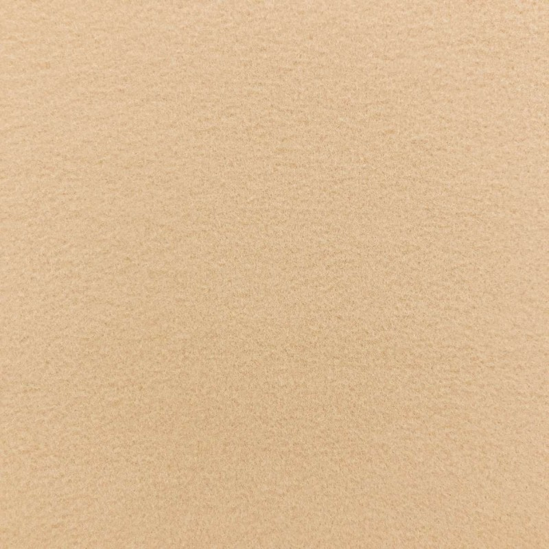Pelúcia Soft Liso - 100% Poliéster - 1,50m Largura - Bege