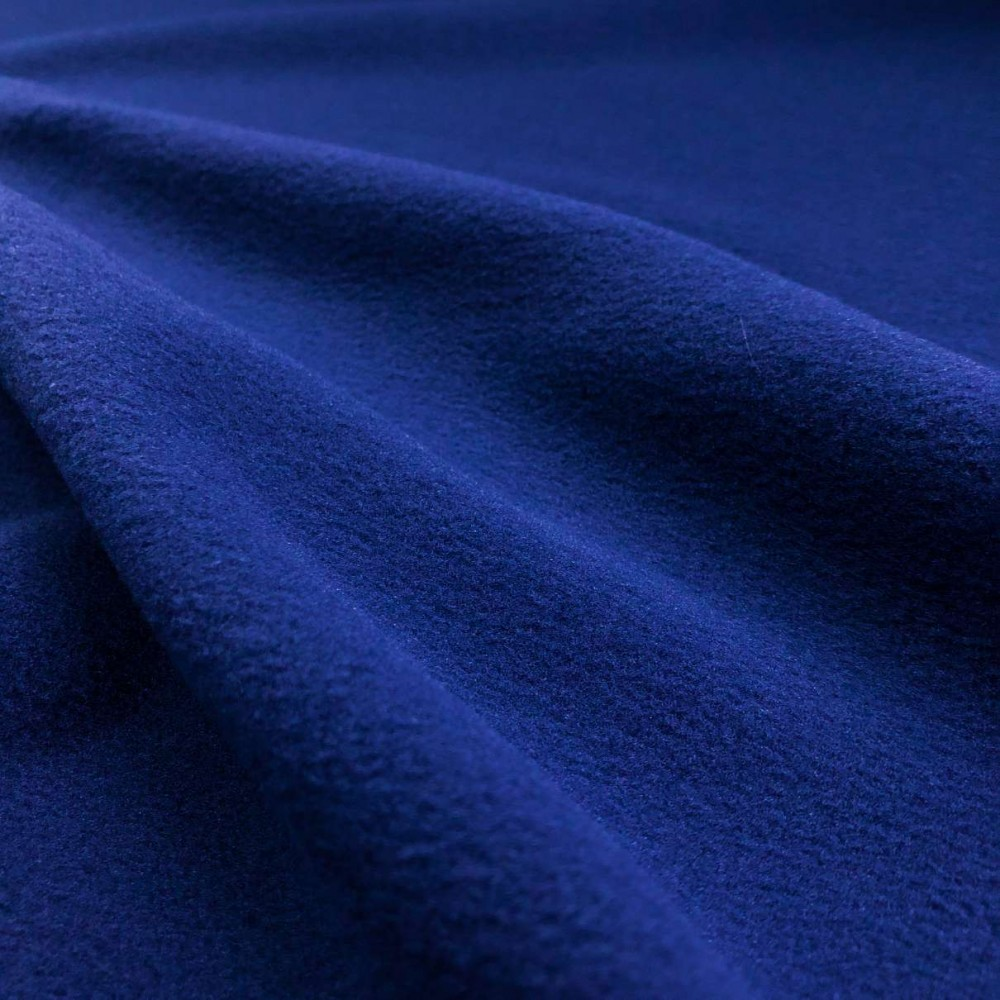 Pelúcia Soft Liso - 100% Poliéster - 1,50m Largura - Azul royal