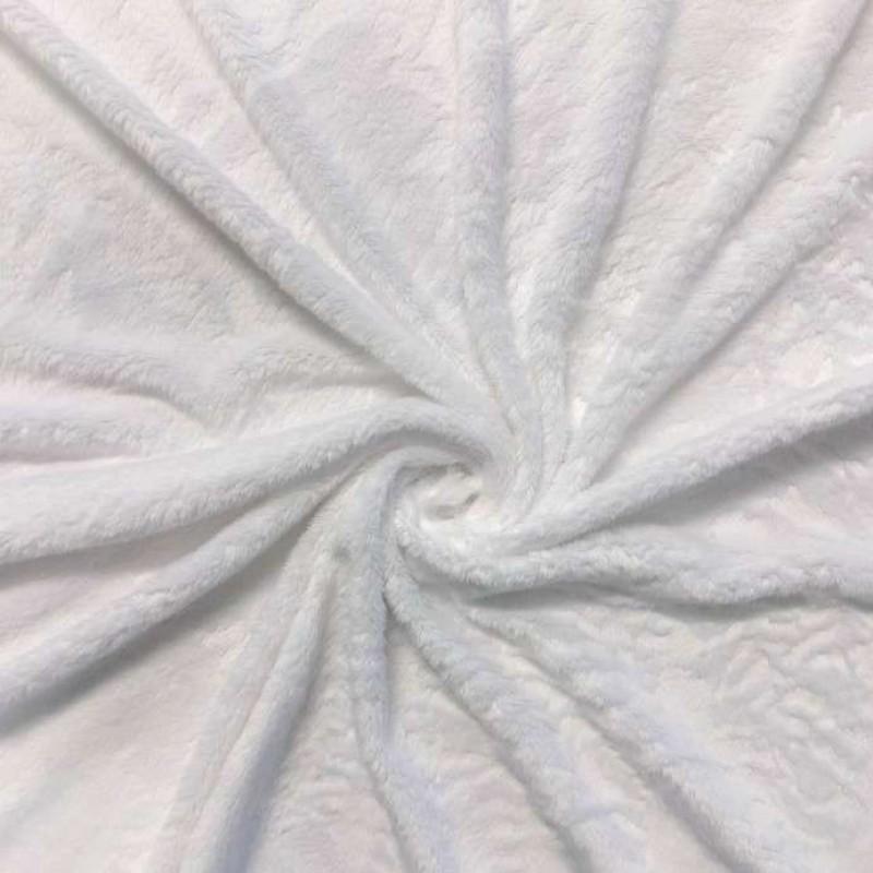 Pelúcia Ultrasoft - 100% Poliéster - Branco