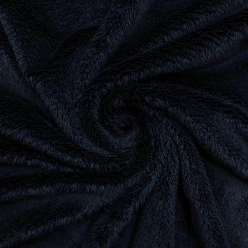Pelúcia Ultrasoft - 100% Poliéster - Azul marinho noite