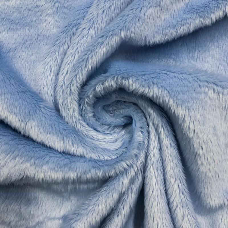Pelúcia Ultrasoft - 100% Poliéster - Azul bebê