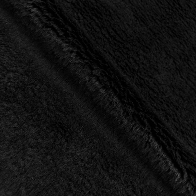 Pelúcia Ultrasoft - 100% Poliéster - Preto