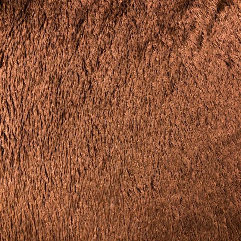 Pelúcia Ultrasoft - 100% Poliéster - Marrom claro