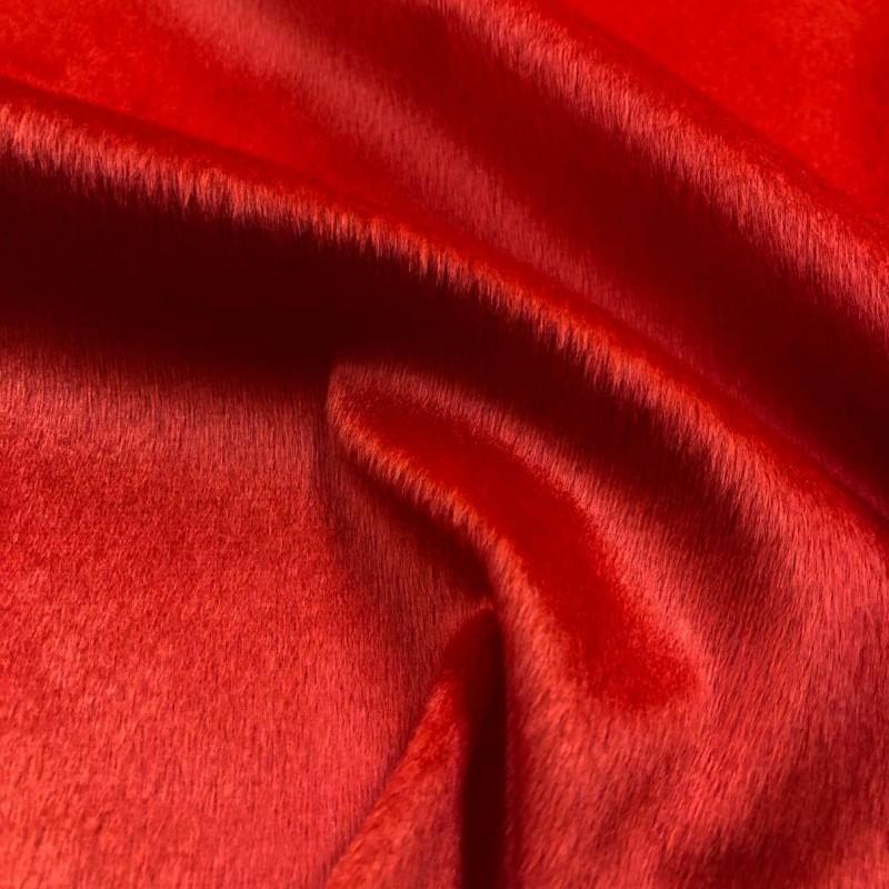 Pelúcia Velboa Lisa - 1,50m largura - Vermelho