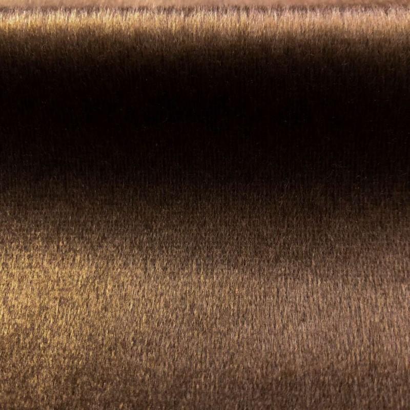 Pelúcia Velboa Lisa - 1,50m largura - Marrom