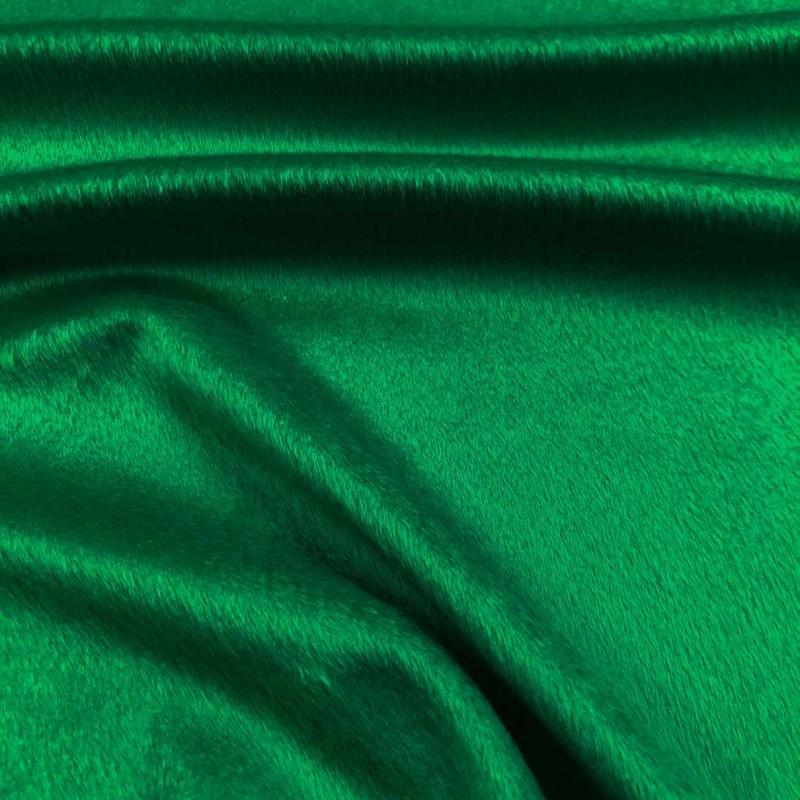 Pelúcia Velboa Lisa - 1,50m largura - Verde bandeira