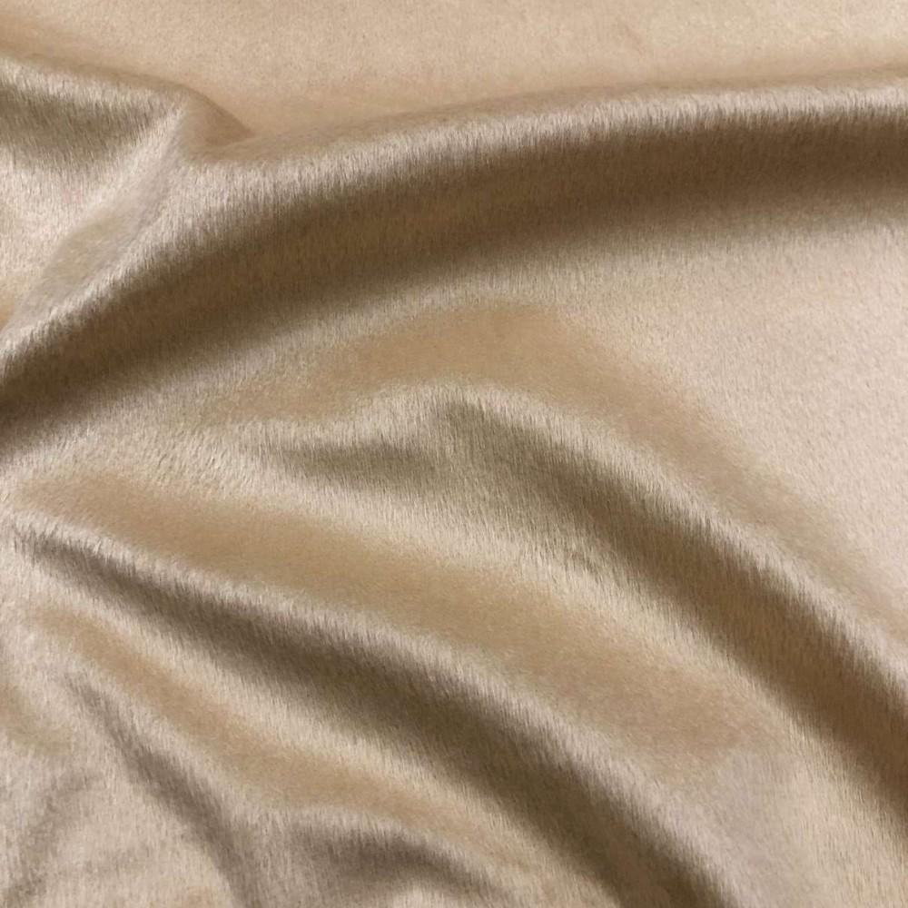 Pelúcia Velboa Lisa - 1,50m largura - Doce de leite
