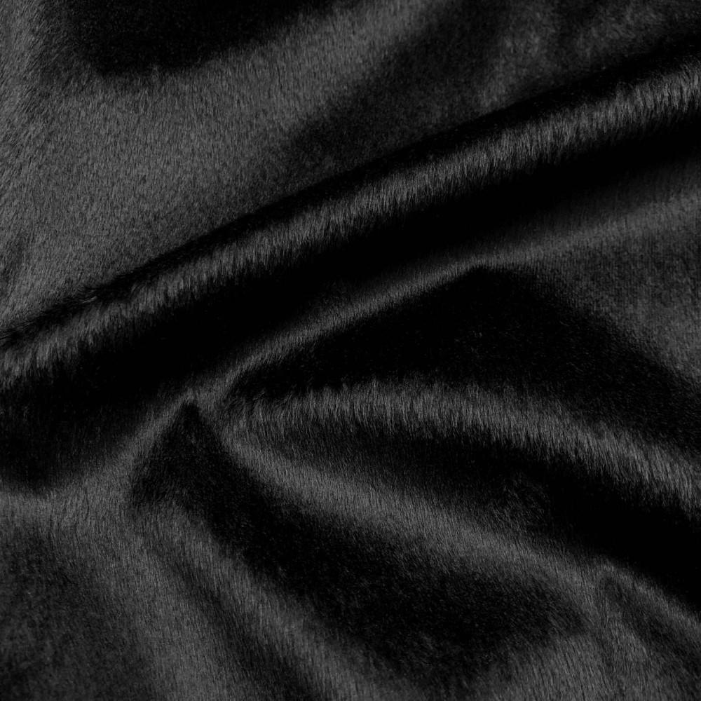 Pelúcia Velboa Lisa - 1,50m largura - Preto