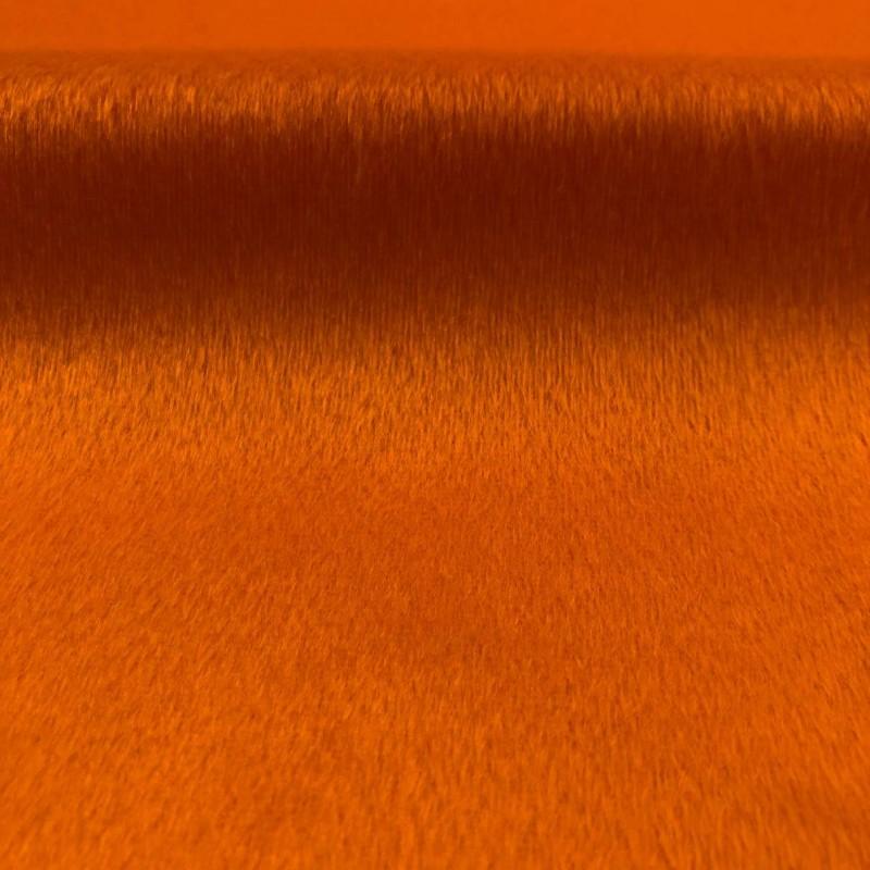 Pelúcia Velboa Lisa - 1,50m largura - Laranja queimado