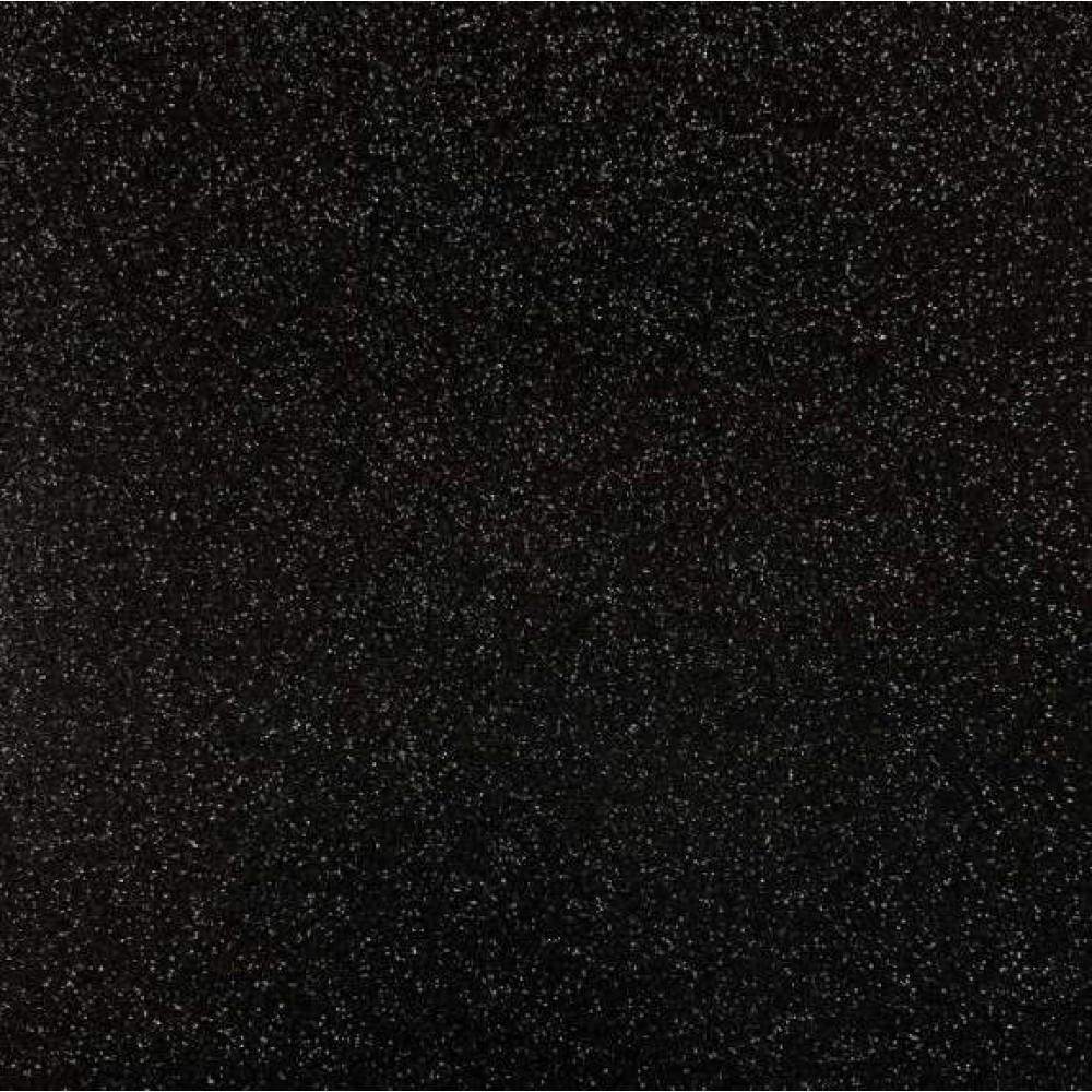 PVC Glitter - 1,40m largura - Preto
