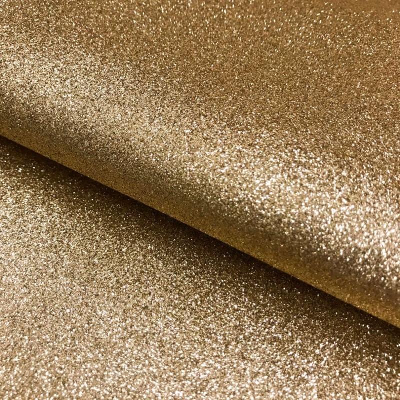 PVC Glitter - 1,40m largura - Ouro