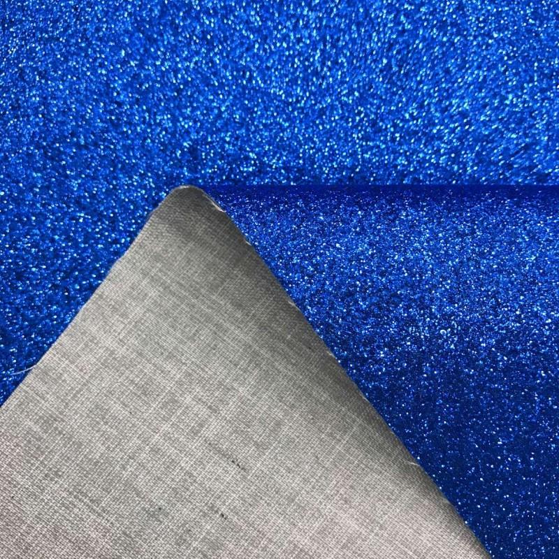 PVC Glitter - 1,40m largura - Azul royal