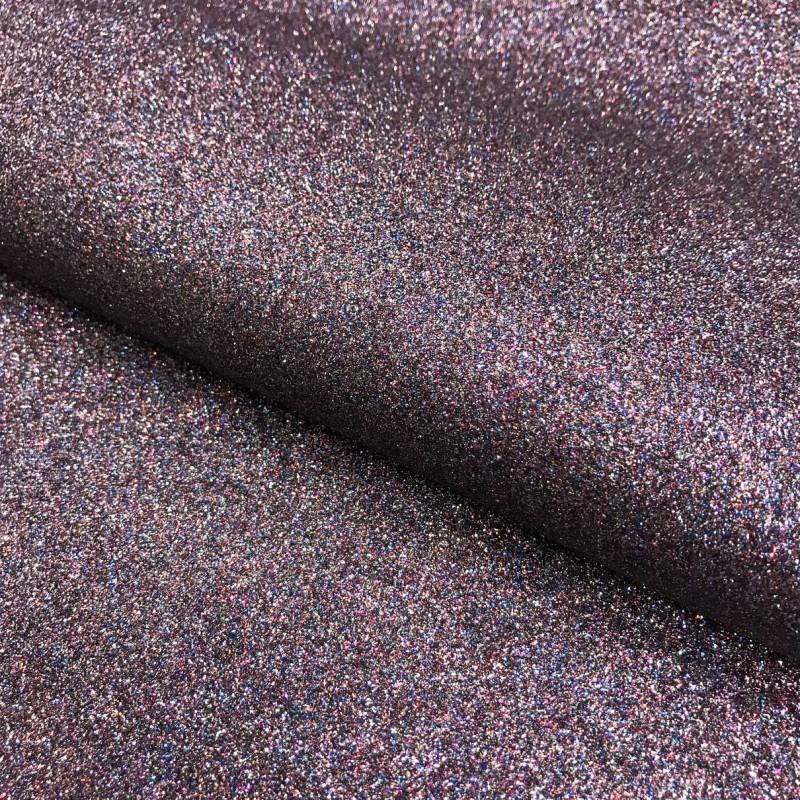 PVC Glitter - 1,40m largura - Multicolor (preto)