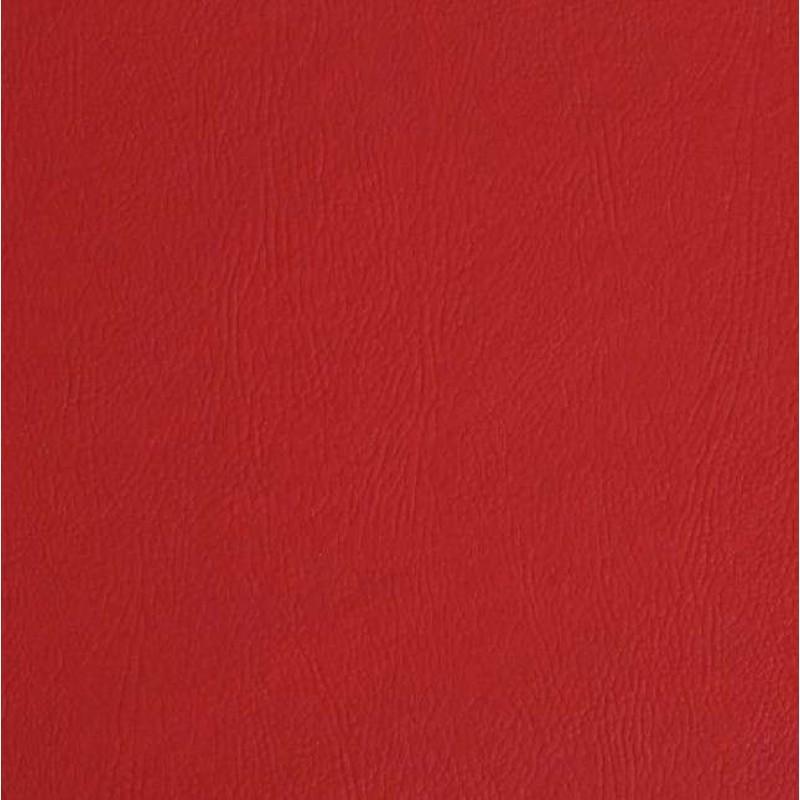 PVC Liso (Couro Fake) - 100% Poliéster - 1,40m Largura - Vermelho