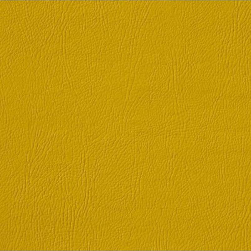 PVC Liso (Couro Fake) - 100% Poliéster - 1,40m Largura - Amarelo