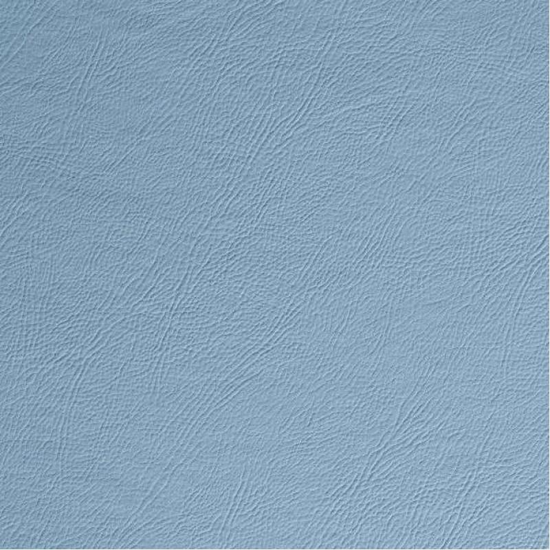 PVC Liso (Couro Fake) - 100% Poliéster - 1,40m Largura - Azul bebê