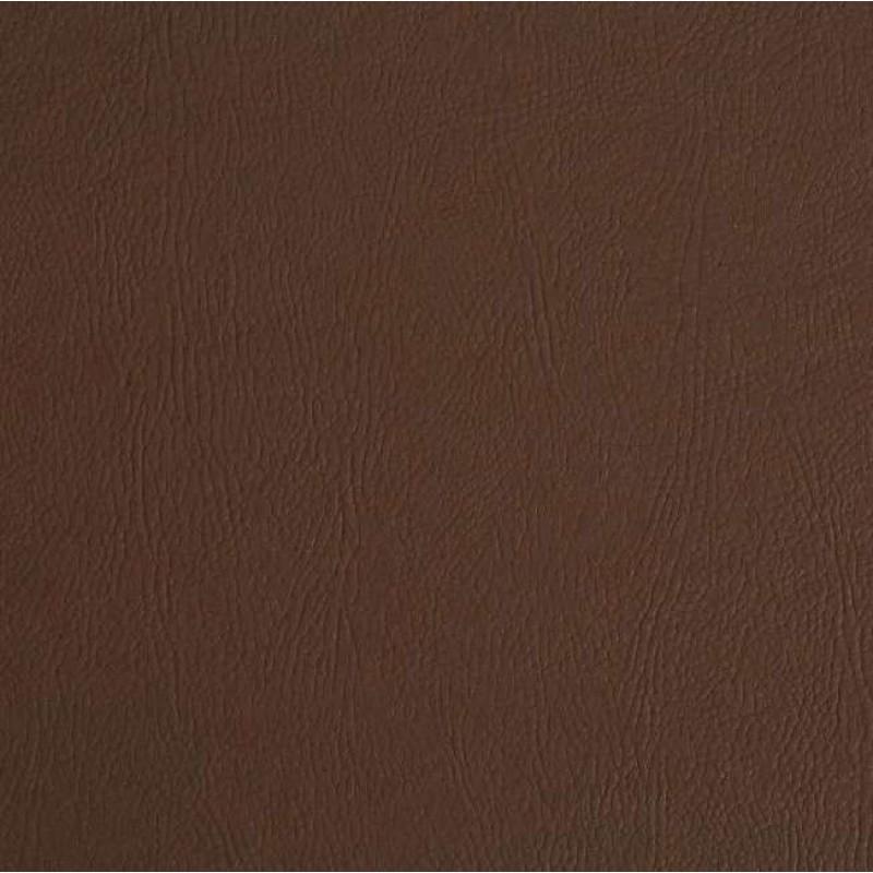 PVC Liso (Couro Fake) - 100% Poliéster - 1,40m Largura - Marrom