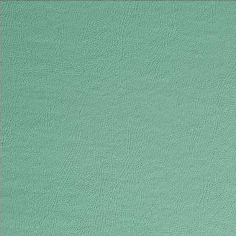 PVC Liso (Couro Fake) - 100% Poliéster - 1,40m Largura - Verde água