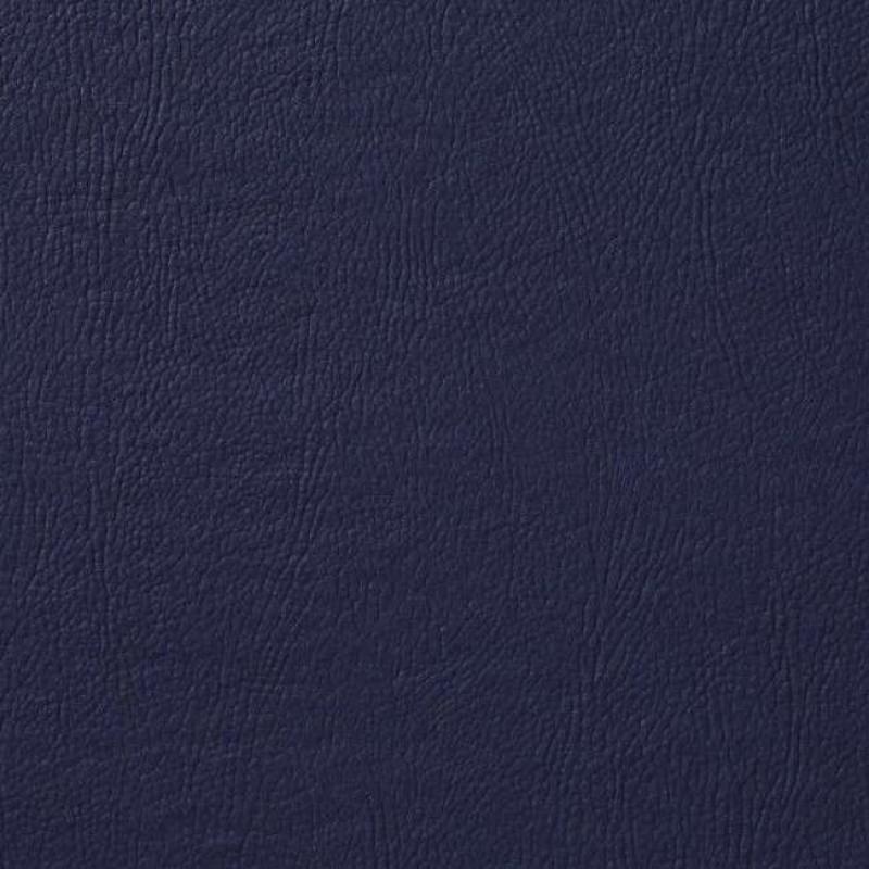 PVC Liso (Couro Fake) - 100% Poliéster - 1,40m Largura - Azul marinho