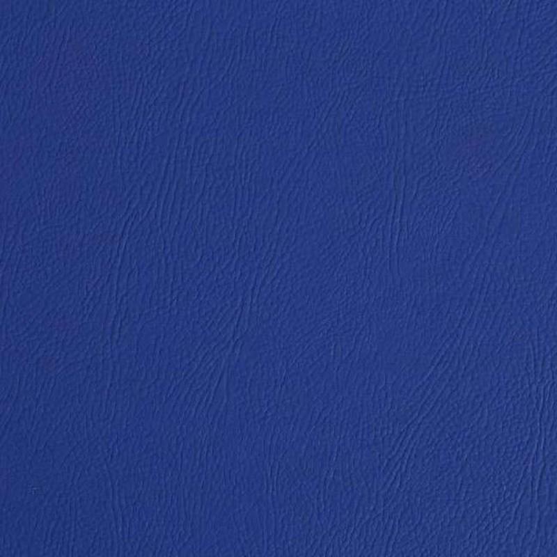 PVC Liso (Couro Fake) - 100% Poliéster - 1,40m Largura - Azul royal